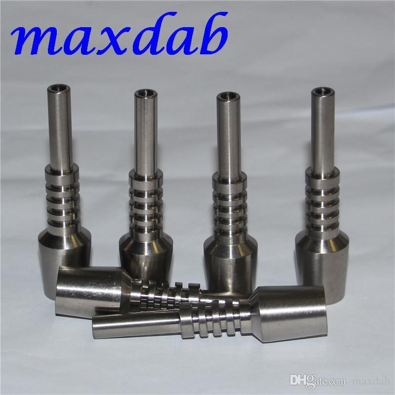 Utensili da fumo Titanium Nail 10mm 14mm 18mm Invorito 2 Tips Tips Tip il collettore di vetro nettare