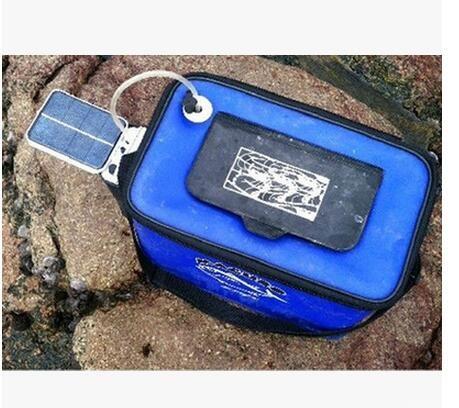 Envío gratis 2015 venta caliente estanque de agua solar oxigenador bomba de aire piscina de oxígeno estanque de peces estanque de peces