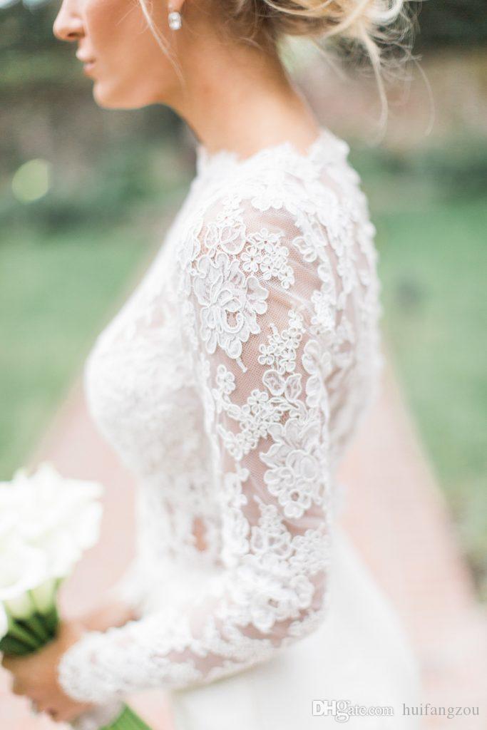 2018 Bridal Wraps 자켓 아플리케 긴팔 볼레로 자켓 숄 코트 Tulle Bridal Accessories Wedding Events