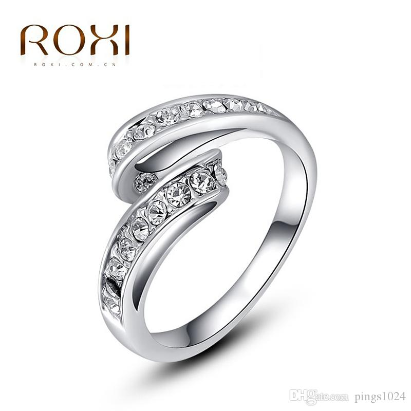 2019 Roxi Valentine S Day Gift Rings For Girl Classic Genuine