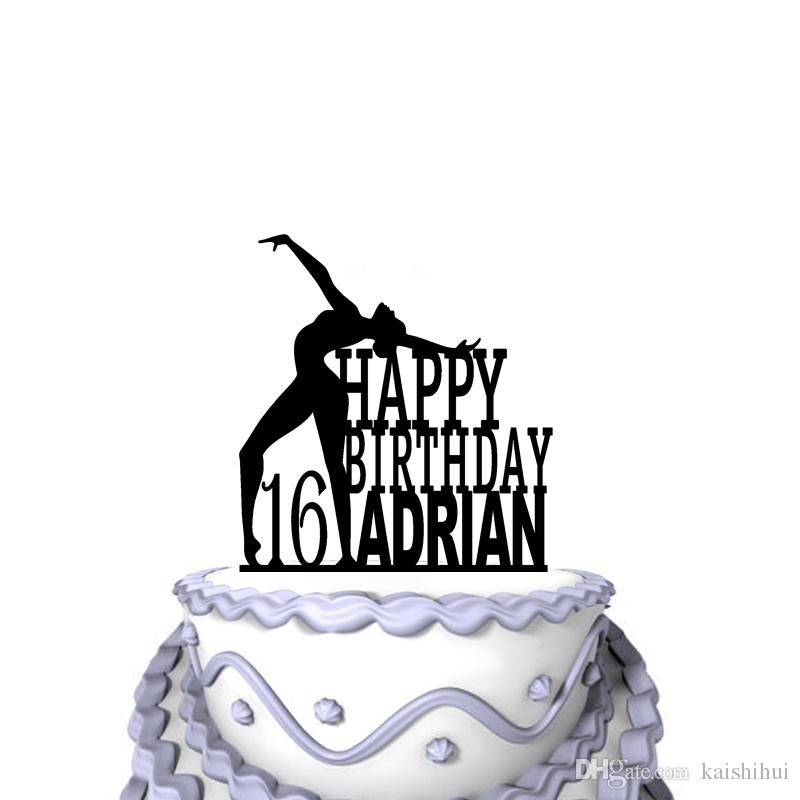 Personalized Funny Wedding Cake Toppers Happy Birthday For 16 Year
