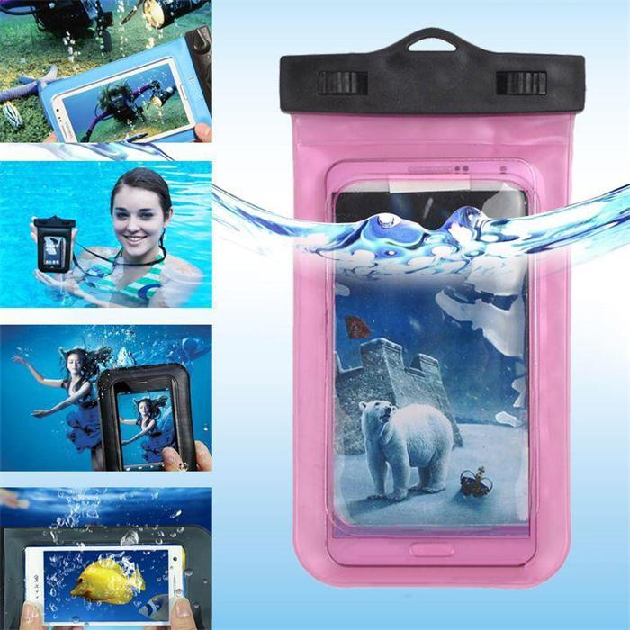 Universal Clear Waterproof Pouch Case Water Proof Bag Underwater Cover For Smart Phone,Mobile phone,Android phone