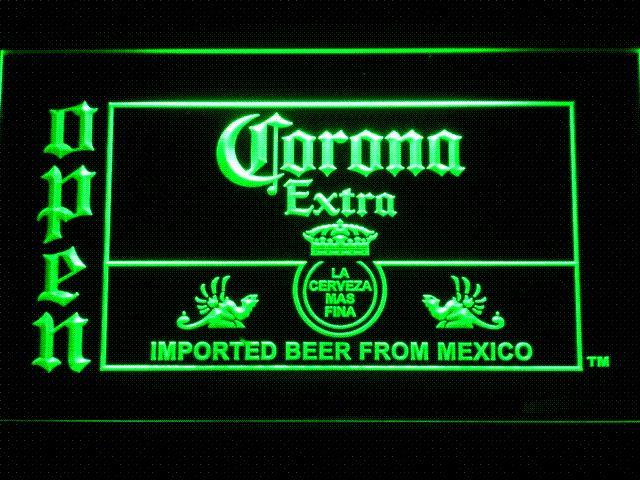 2019 035 Corona Beer OPEN Bar LED Neon Light Sign Cheap