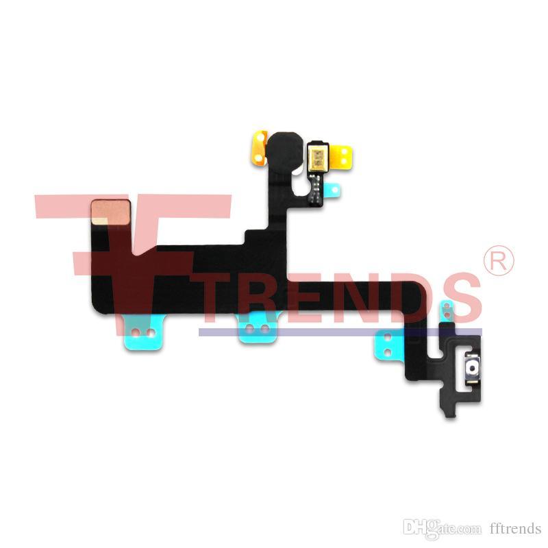 IPhone 6 için Güç Düğmesi Anahtarı Kapalı Flex Kablo Şerit Değiştirme Tamir Parçaları Ücretsiz Kargo