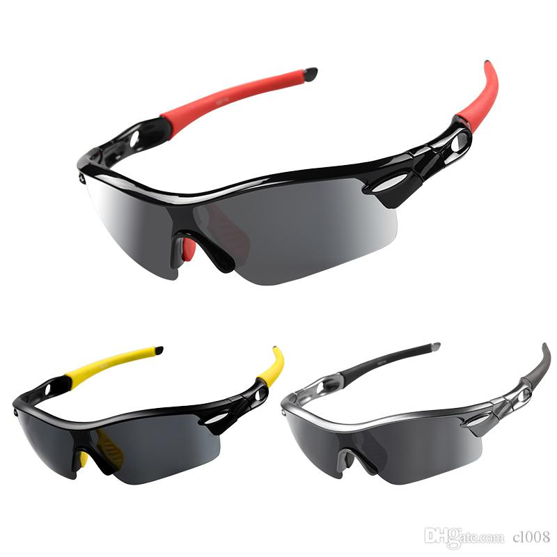 Cycling sunglasses Men and women outdoor sport sunglasses factory wholesale off-road wind proof sunglass of lenses