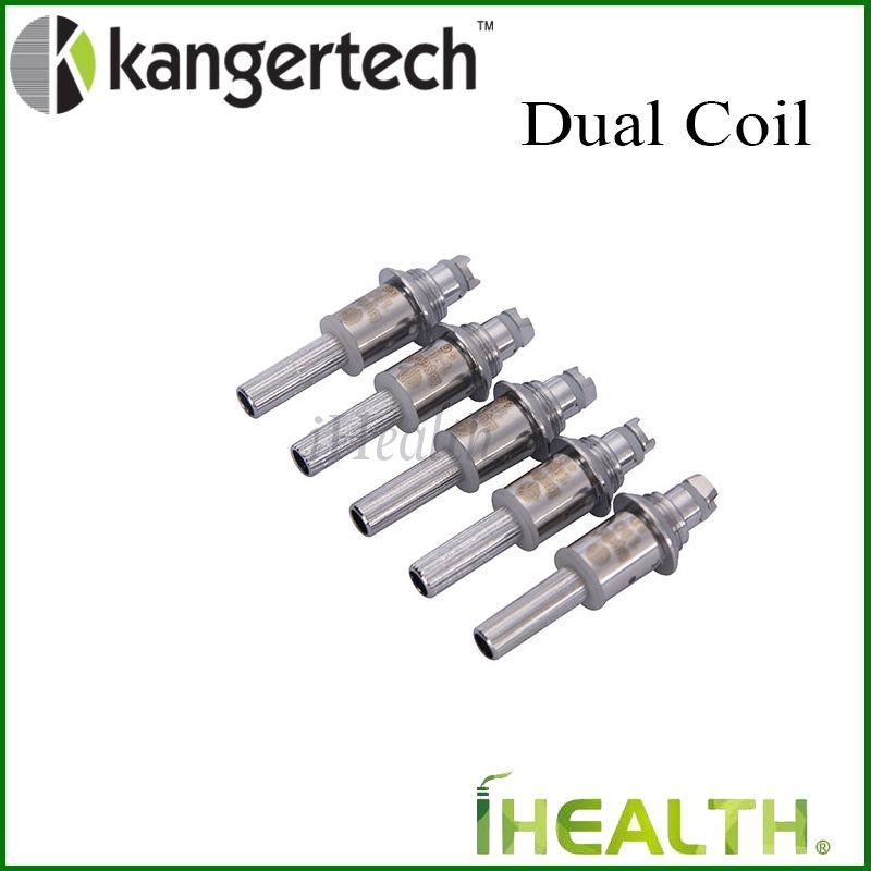 Kangertech bobina doppia Unità Kangertech Cartomizer Upgraded Kanger bobina doppia testa i serbatoi Aerotank Protank 3 EVOD vetro autentici