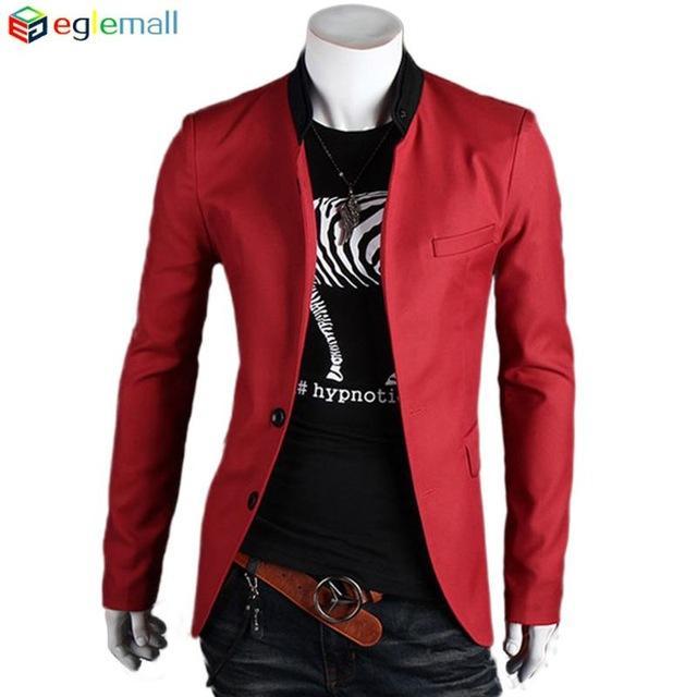 Online Cheap 2016 Men Suit Blazer Summer Male Suits Masculine ...