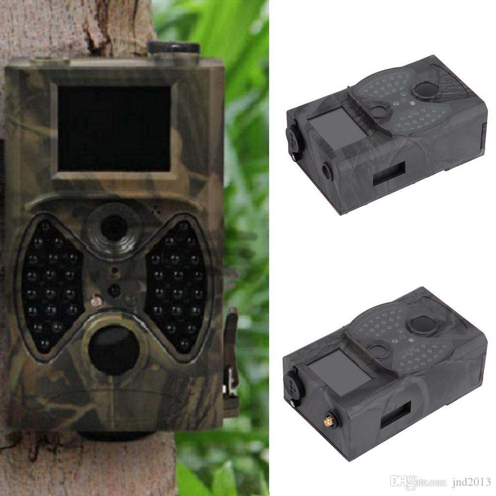 New HC300M Hunting Trail Camera Video Scouting Infrared Game HD 12MP MMS GPRS a digital trail with MMS function