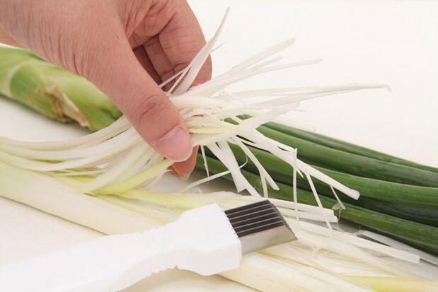 Onion Vegetable Cutter slicer multi chopper Sharp Scallion Kitchen knife Shred Tools Slice Cutlery