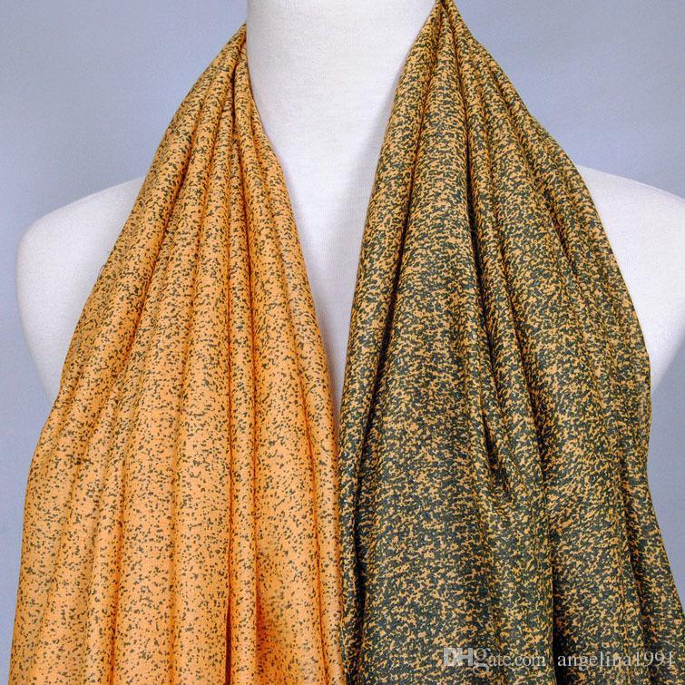Printe ombre leopard Girl polka dot shawls high quality cotton headband muffler hijab spring muslim scarves/scarf