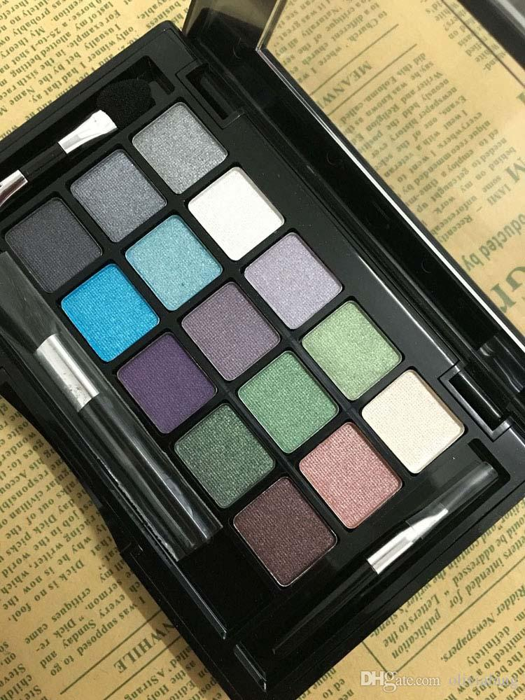 15 Colors Makeup Kit Eye shadow Palette for nude makeup Shimmer Eyeshadow  brand mineral eyeshadow kit daily makeup nake eye makeup with eyes