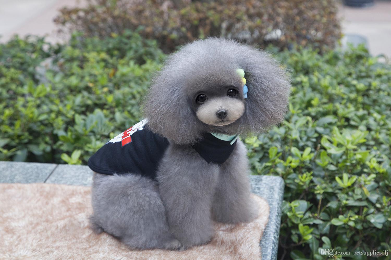 Y89 Cute Summer Pet Dog Vest Clothes Puppy dog Cartoon tortoise pattern cotton T-shirt Vest Clothing pet supplies