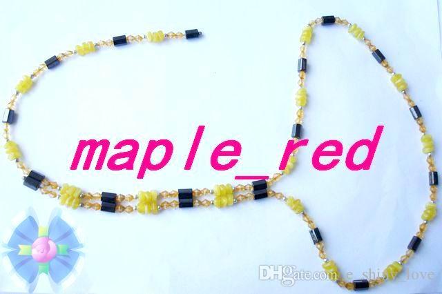 10 pz / lotto bella mista moda donna magnetico genuino ematite perline fili il braccialetto collana di cavigliere regalo