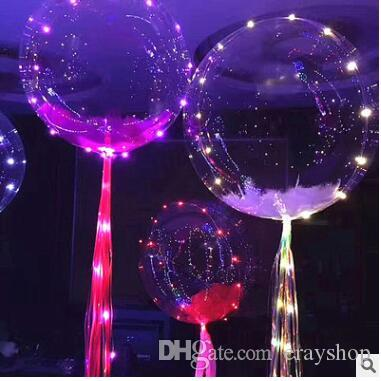 Transparent Balloon Led Light Balloons Wedding Xmas Party Lights Decor String 3 Meters Best Gloves Rave