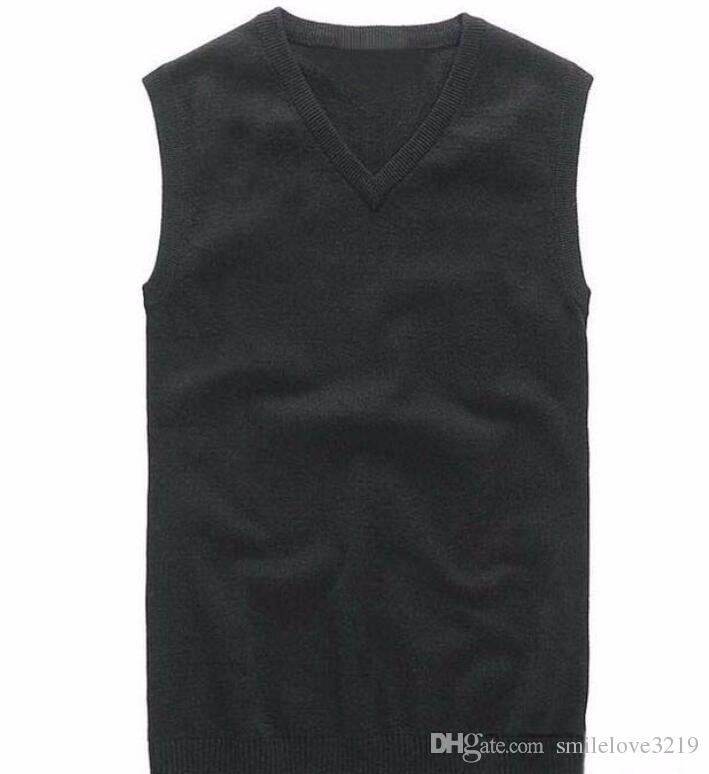 2016 New Small Horse Maglioni uomo Maglia con scollo a V jersey hombre jumper ralphmen pullover cashmere manica lunga marca clothing polo