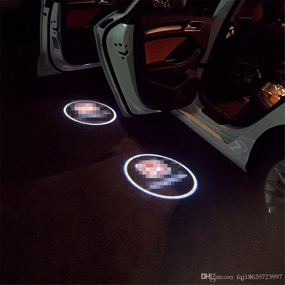 Case For Chrysler Case For Lincoln Car Logo Led Interior Lights