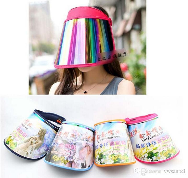 2019 PLASTIC Sun Hat Visor Hat UV Protection Golf Sport CAP From Ywsanbei 1bca37785b07