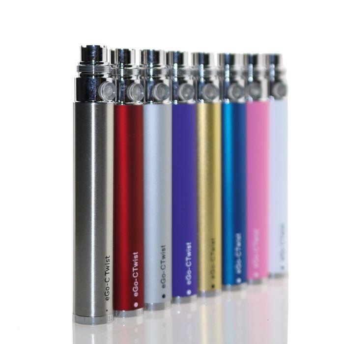 батарея закрутки ecig эга-ctwist регулируемая - . напряжение тока 3.2 v выхода-батарея закрутки эга установок 650mAh 900mAh 1100mAh 4.8 v 8