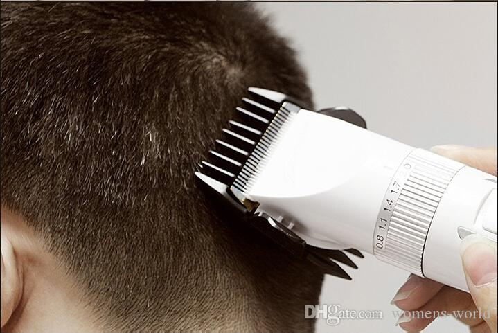 Riwa hair clipper RE-730AK for adult and children mute design rechargeable hair trimmer silver color