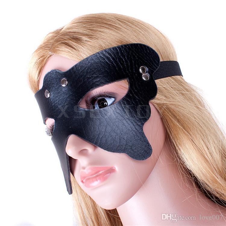 Fantasy jeu de rôle Black Spider Queen esclave passion masque pour les yeux bdsm