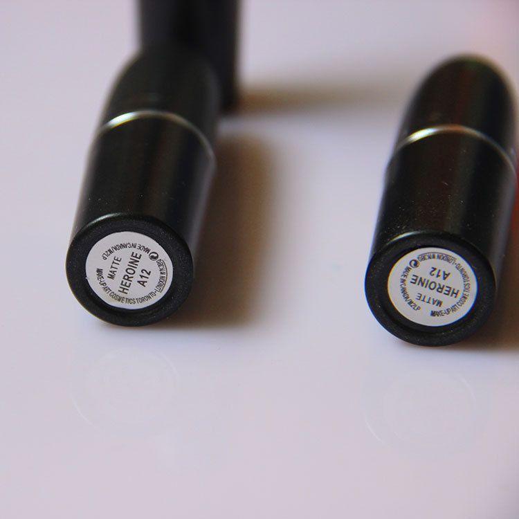 2017 M Makeup Luster Lipstick RUBY WOO CANDY YUM YUM Frost Matte Lipstick 3g with english name B523