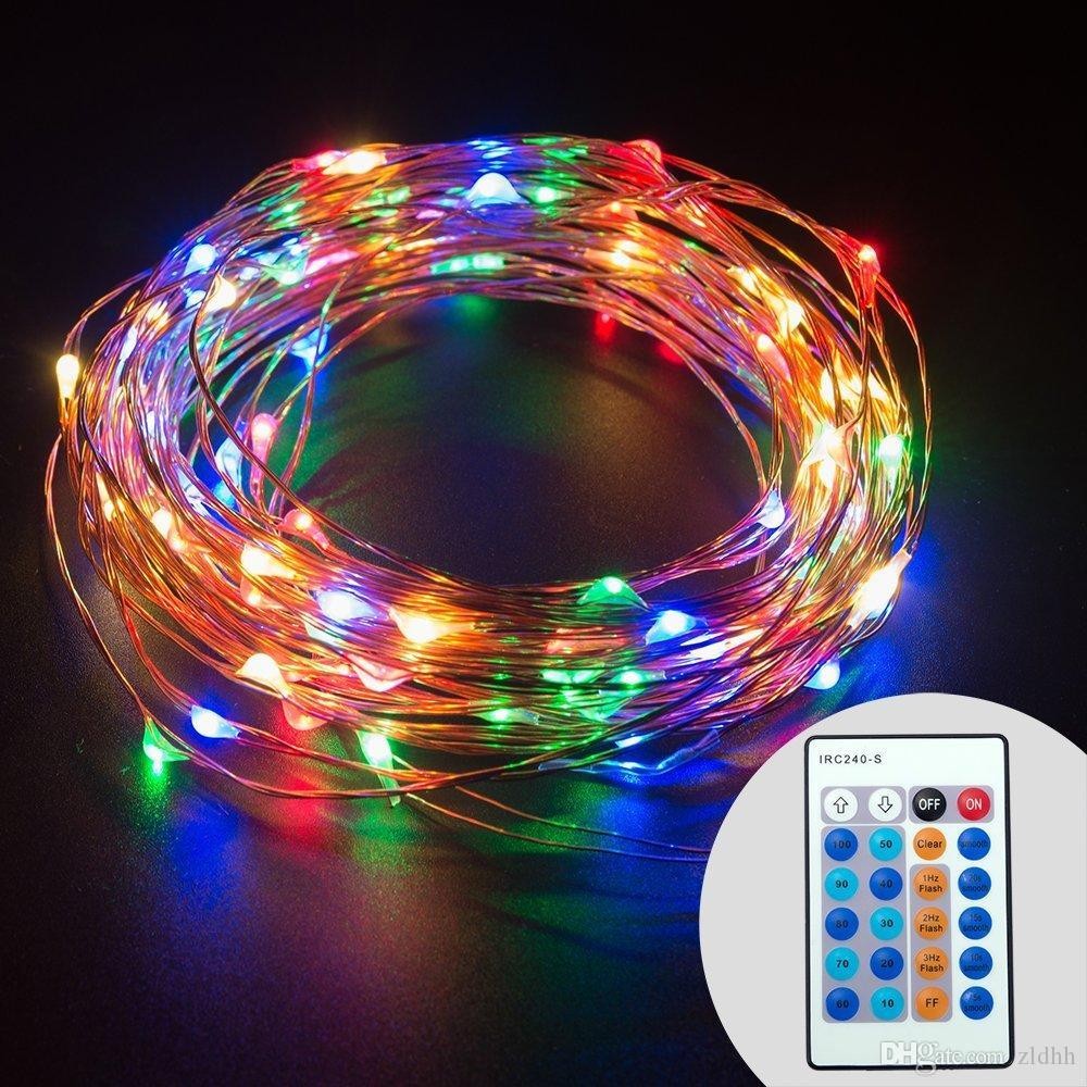 Cheap Dimmable Led String Lights Copper Wire 33ft Led Starry Light ...