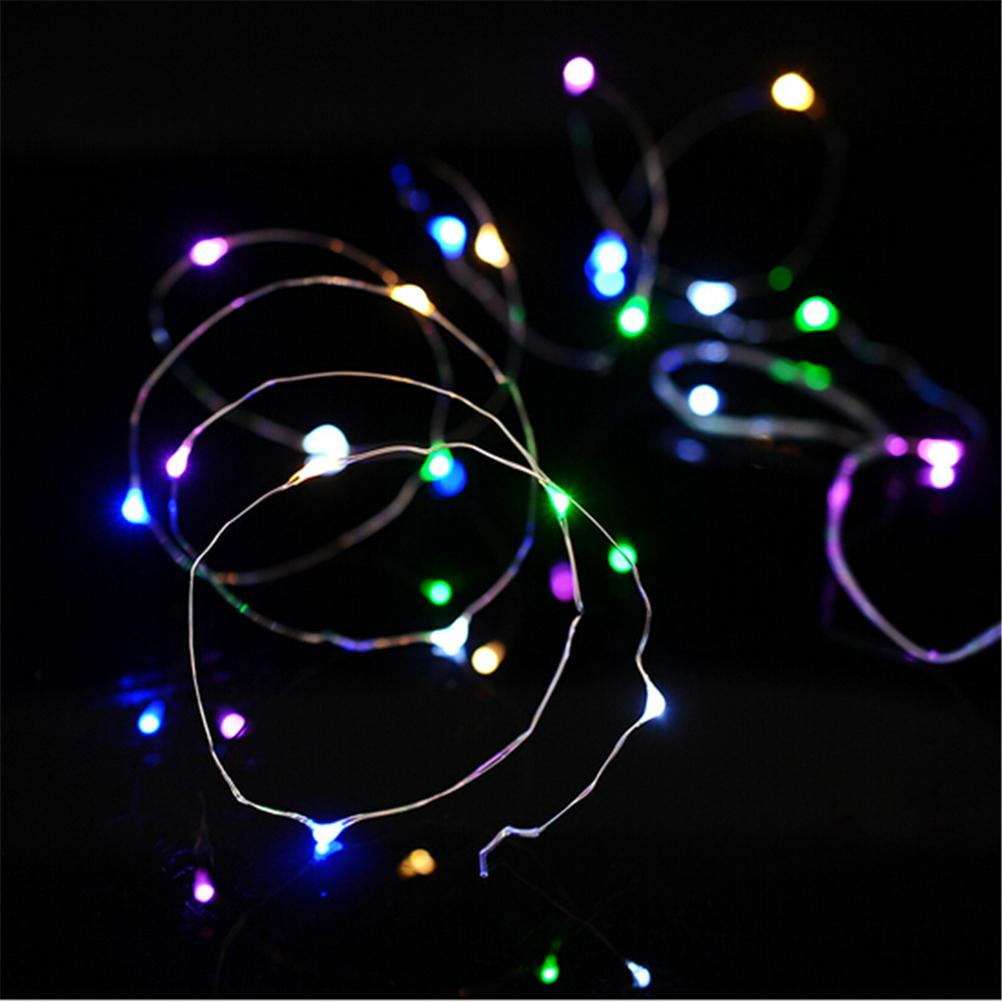 Wholesale 2m led string lights battery powered 20 leds thin copper wholesale 2m led string lights battery powered 20 leds thin copper wire rope lights for christmas tree wedding party bedroom decoration outdoor globe string aloadofball Image collections