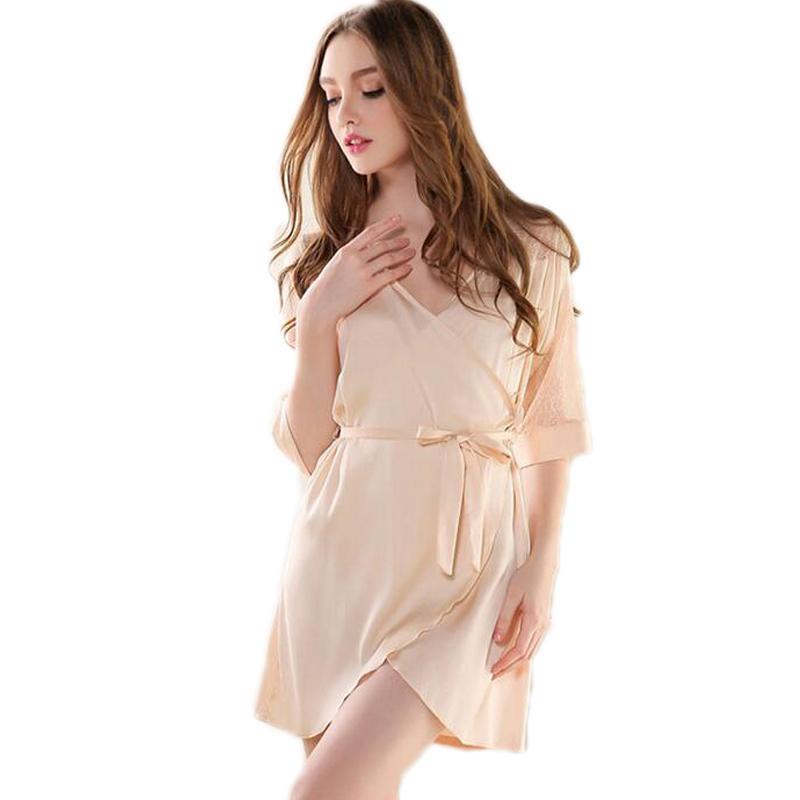 2019 Sexy Short Nightdress Summer Femal Sleeveless Nightgown Spaghetti  Strap Nightgowns Pajamas Women Chemise De Nuit Sexy From Haillad 4c5a28024
