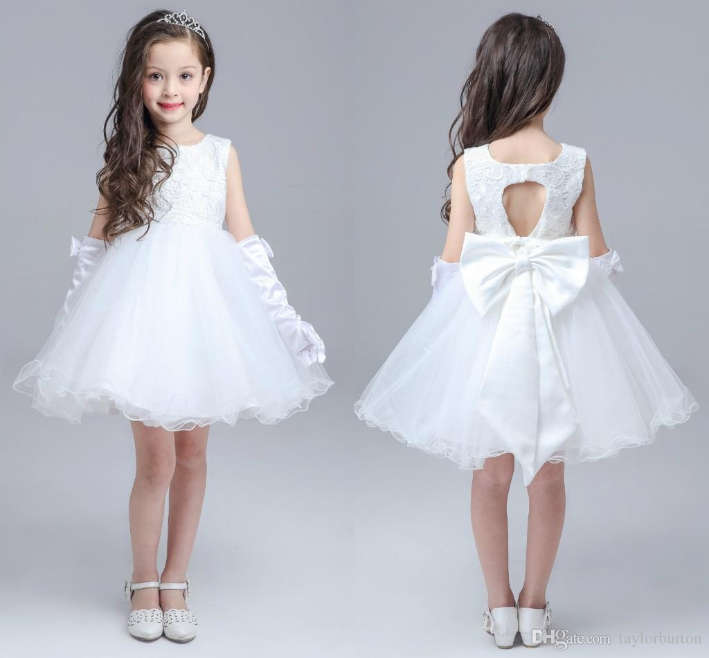 Ball Gown Little Girls Birthday Party Dress With Beads Beauty Cute ...