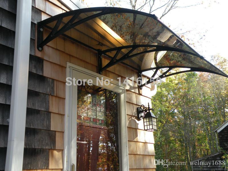 Front Door Canopy,Plastic Bracket Door Canopies,Home Door Canopy  Awning,Polycarbonate Door Canopy