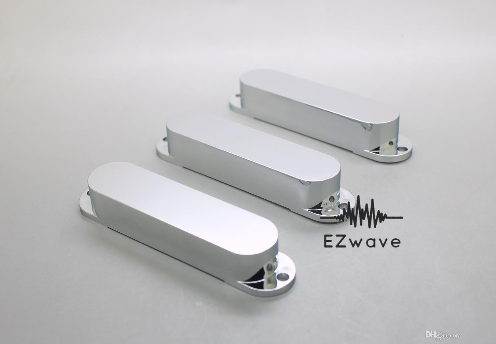 2018 Chrome Plated Plastic Closed Single Coil Strat Pickup Cover Set From Ezwayelc $4.53 | Dhgate.Com : plated plastic - pezcame.com