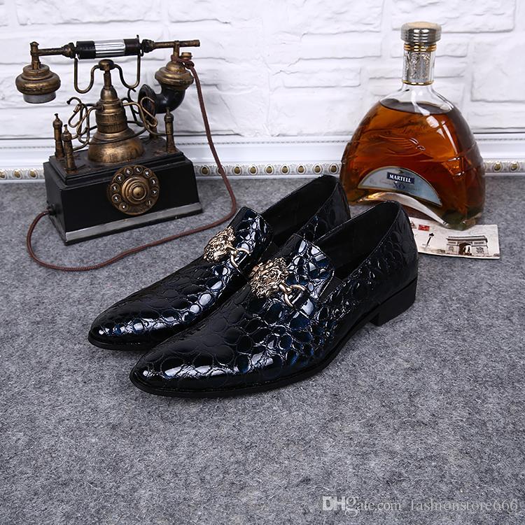 Dance party with rivet 2016 wedding dress new arrival men shoes, men's leather shoes