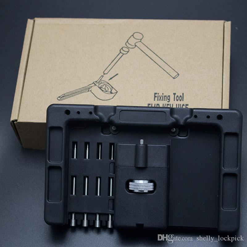 HUK Locksmith Tools Car Remote Control Flip Key Fixing Tool Key Repair Tool Kit With Fetch Case