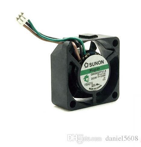 SUNON 2510 5 V 0.6 W GM0502PFV1-8 2 CM 3 linha micro ventilador de equipamentos de refrigeração