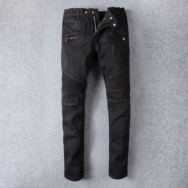 Men Biker Jeans Denim Black Ripped Distressed Skinny Fit Jeans Brand New  Size 28 38 UK 2019 From Baiyu168 37c9a99e44fb