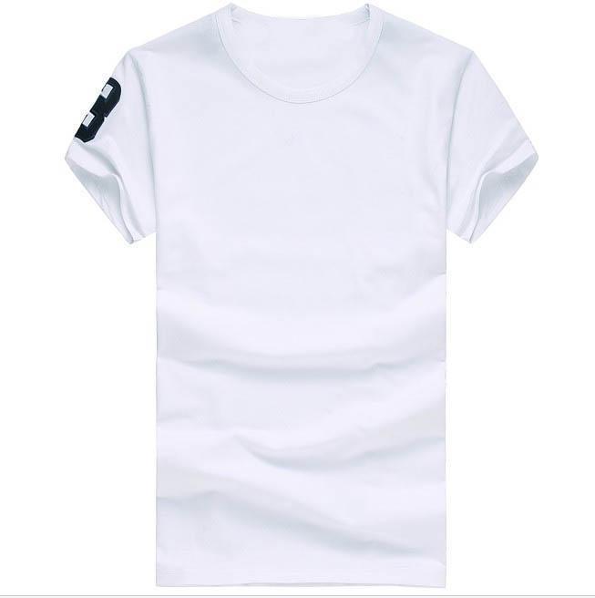 Бесплатная доставка 2016 высокое качество хлопок o-образным вырезом с коротким рукавом футболки бренд мужской футболки свободного покроя стиль для спортивных мужчин футболки
