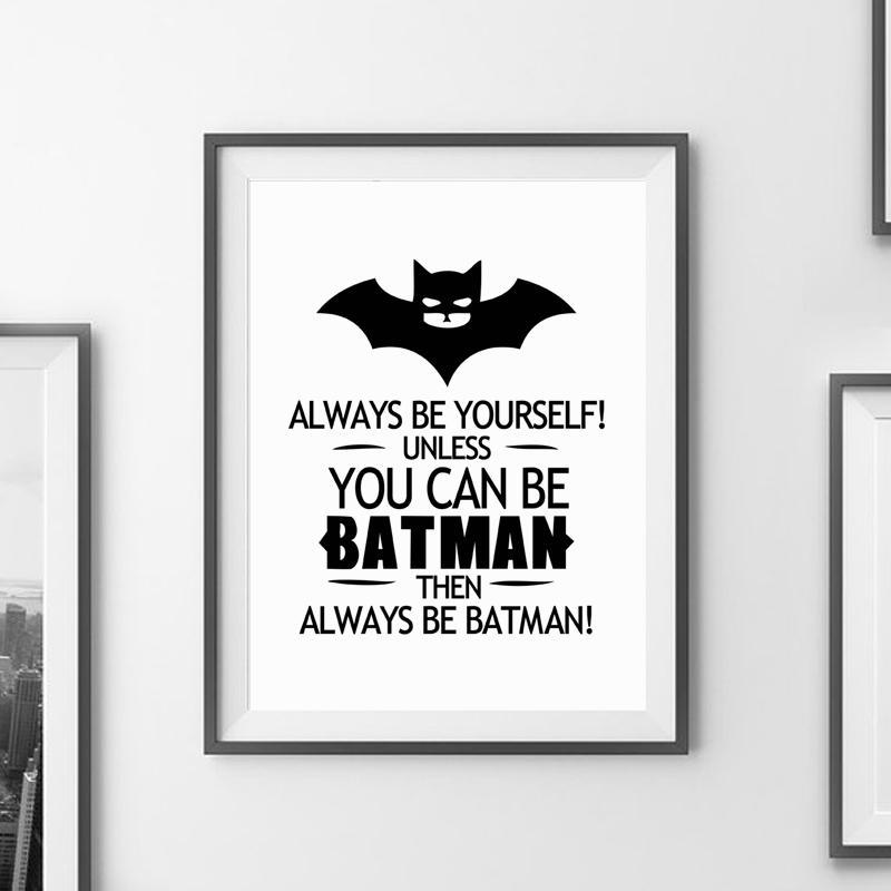 Compre Batman La Cita De La Lona De Arte Impresión Cartel De La ...