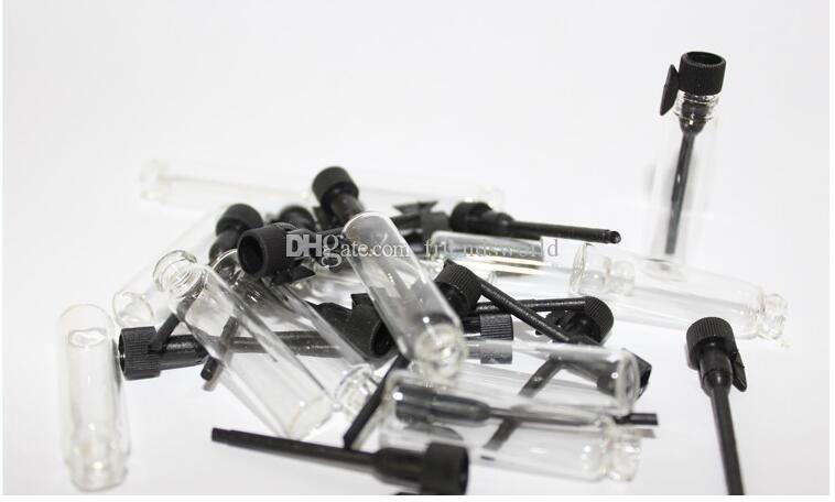 1 مل 2 مل 3 مل عطور زجاجية قوارير زجاجية صغيرة ، قنينة صغيرة للعطور ، 1 مل زجاجية قارورة بخاخ زجاجات فارغة قابلة لإعادة التعبئة