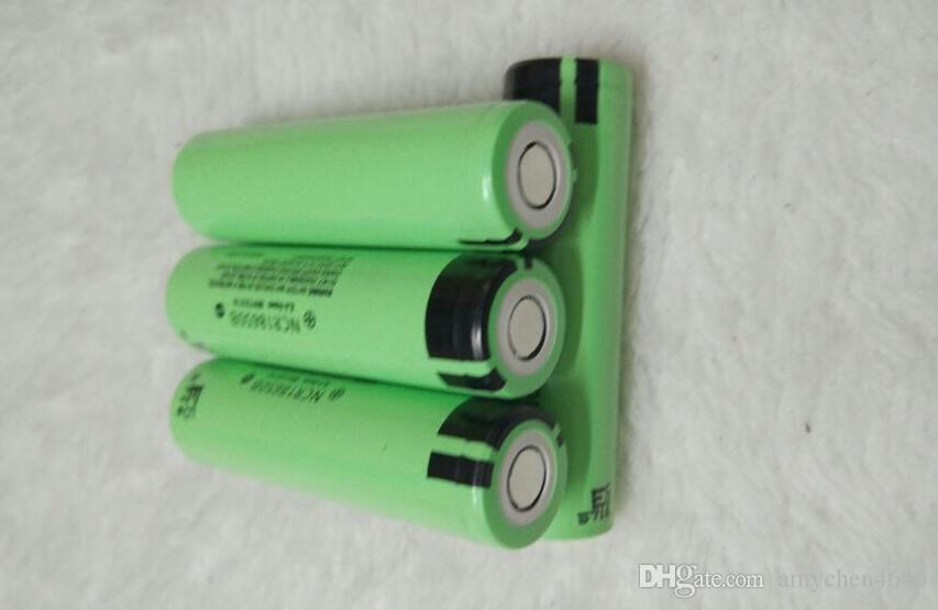 DHL FEDEX 18650 3.7 V / 3400 mah NR18650B Lthium batteria Panasonic sigaretta elettronica Power Tool Battery