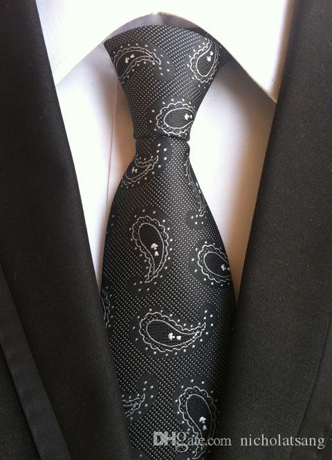 8 스타일 2016 트렌디 남성 정장 넥타이 폴리 에스터 실크 격자 무늬 스트라이프 넥타이 꽃 Gravata for Mens Business Vestidos Bridegroom Neck Tie