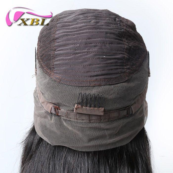 Xblhair 360 full lace perucas de cabelo humano nova chegada peruca de cabelo humano dentro da onda do corpo e estilo de cabelo em linha reta