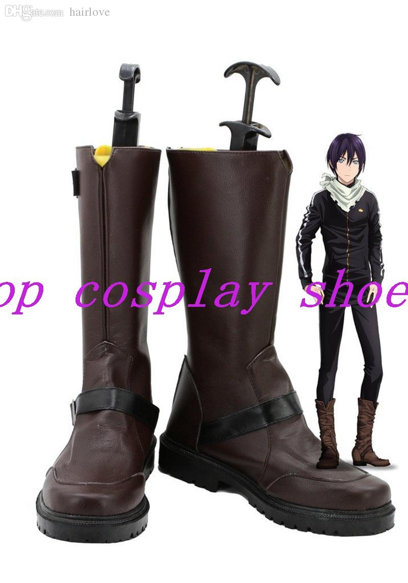 2018 Wholesale Anime Anime Noragami Yato Cosplay Shoes Boots Version B Hand  Made Custom Made For Halloween Christmas From Hairlove, $87.08 | Dhgate.Com