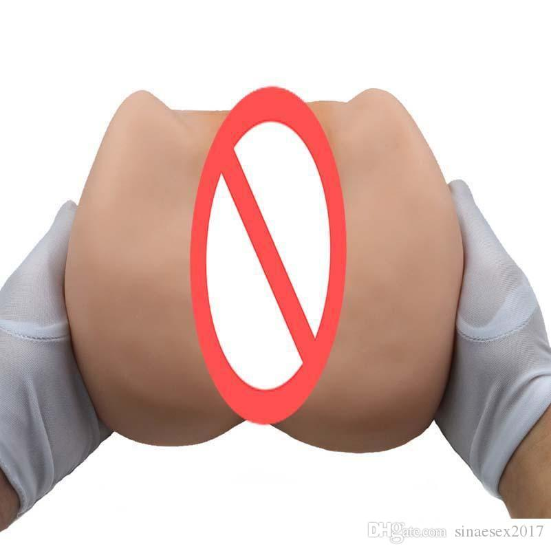 Japanese Silicone Sex Dolls For Men Pocket Pussy Male Masturbator Cup Hands Free Vagina And Anal Erotic Sex Toys