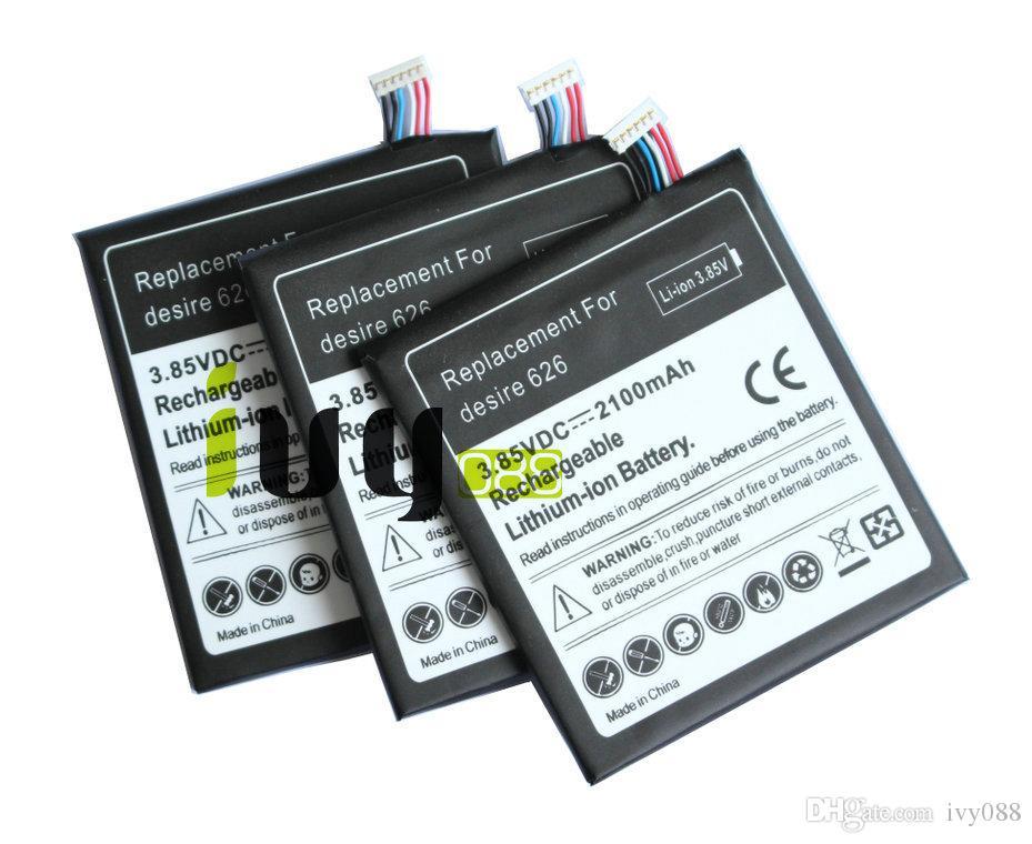 2 قطعة / الوحدة 2100 مللي أمبير B0PKX100 استبدال البطارية لهتك الرغبة 626 D626T D262W D262D بطاريات batteria batterij batterie