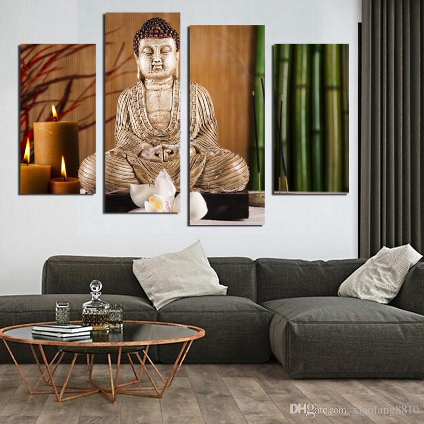 Pinturas para salones modernos excellent pero igual que a - Lienzos decorativos ...