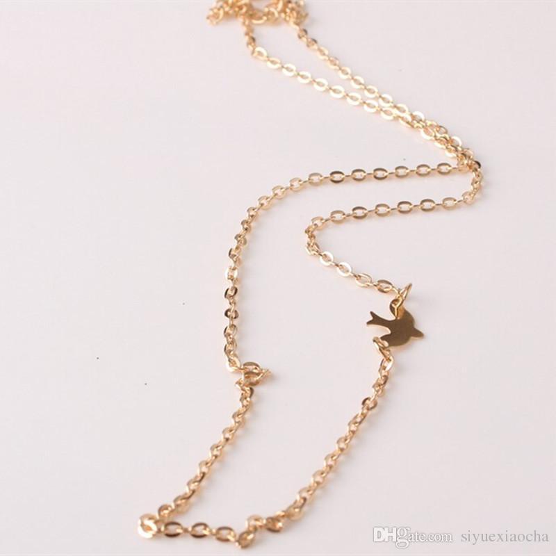 Calvicle ожерелье с мира подвеска птица, благородный и нежный, не увядает, бесплатная доставка и высокое качество.