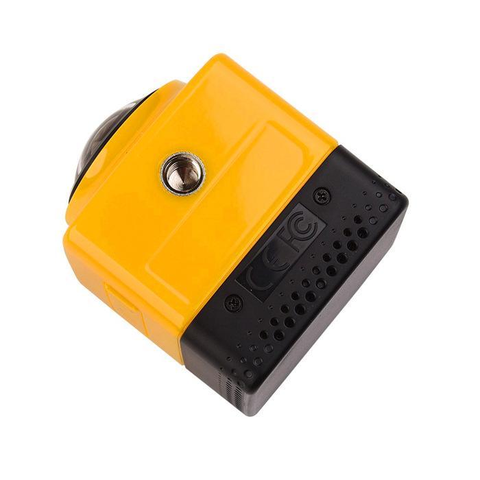 KÜP 360 Panoramik Kamera Mini Spor Eylem Kamera Dahili WiFi Kamera H.264 1280 * 1042 Video Mini Kamera GVT100M DSP ile