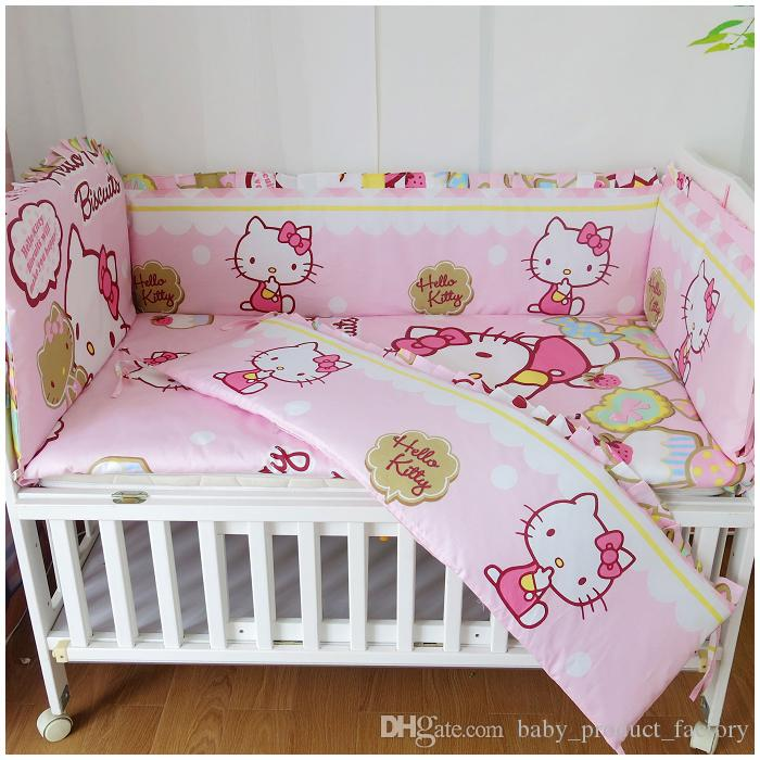 893eaf05e8c Promotion! Cartoon Bedding Sets Newborn 100% Cotton Baby Bedding Kit ...