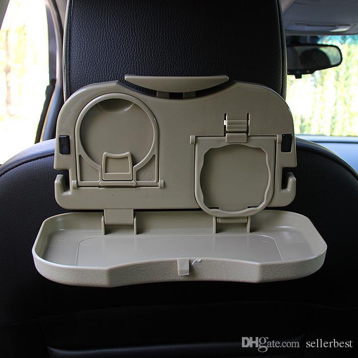 Folding Auto Auto Rücksitz Tisch Getränk Essen Cup Tray Halter Standplatz heißer Verkauf