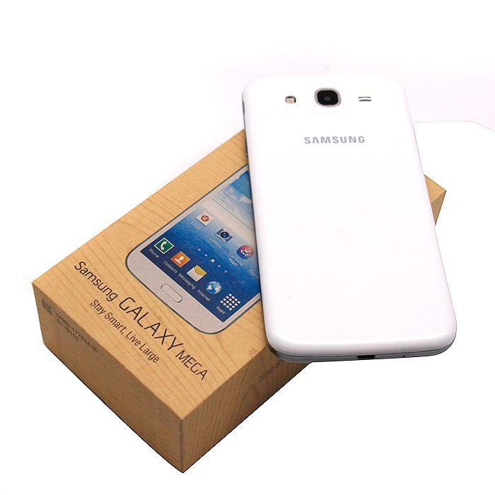 Débloqué Samsung Galaxy Mega 5.8 Remis à neuf I9152 téléphone portable 5,8 pouces Dual Core 1,5 Go 8 Go de RAM ROM 8MP caméra téléphone portable